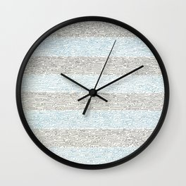 Water Moire Wall Clock