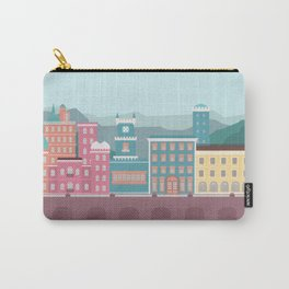 Colourful City Carry-All Pouch