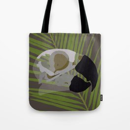 Feathered Palms Tote Bag