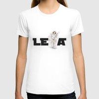 leia T-shirts featuring PRINCESS LEIA by carotoki art and love