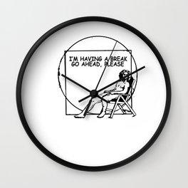 Da Vinci break Later funny Slowly digested gift Wall Clock