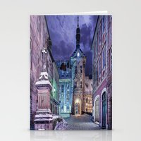 gotham Stationery Cards featuring Gotham by Robin Curtiss