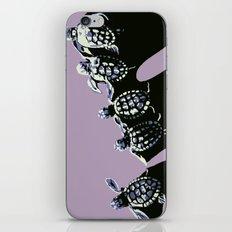 five turtles iPhone & iPod Skin