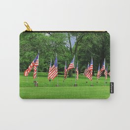 Flags Flying in Memoriam Carry-All Pouch