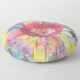 FlowerWaltz03 Floor Pillow