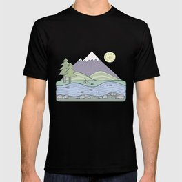 Camping in the Forest T-shirt