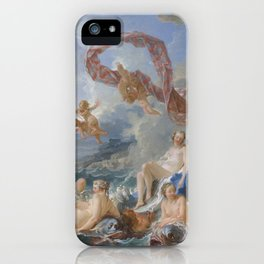 The Triumph of Venus by François Boucher iPhone Case