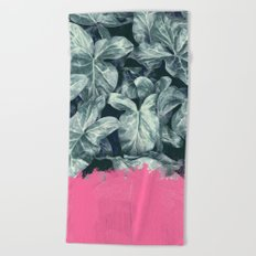 Pink Sorbet on Jungle Beach Towel
