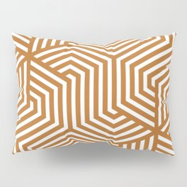 Liver (dogs) - brown - Minimal Vector Seamless Pattern Pillow Sham