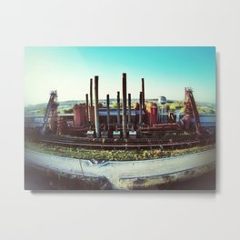 Sloss Furnace Metal Print