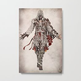 Ezio Auditore da Firenze from Assassin's Creed 2  Metal Print