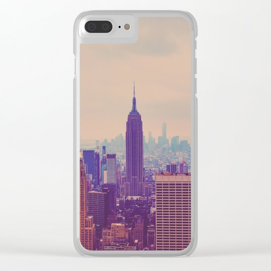 NY Clear iPhone Case