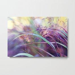 pretty grasses Metal Print