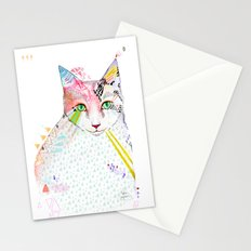 Cat / March Stationery Cards