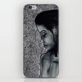 momento mori iPhone Skin