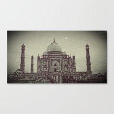 Taj chrome Canvas Print
