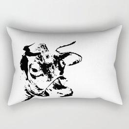 Follow the Herd - Black #229 Rectangular Pillow
