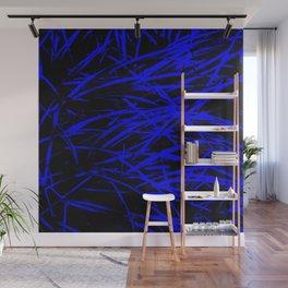 Blue Blades Wall Mural