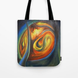 Luminous Forest Tote Bag