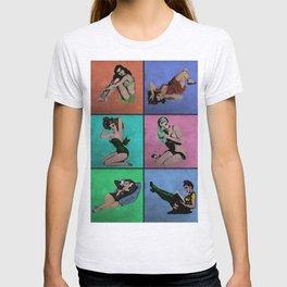 Pop Pin-Up Girls T-shirt