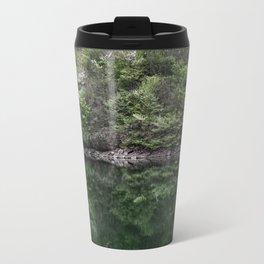 Reflections in lake Travel Mug
