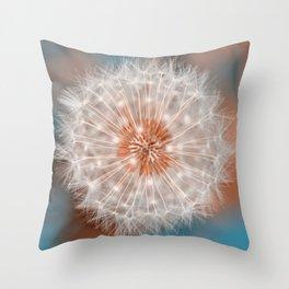 Dandelion Plasma Throw Pillow