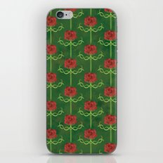 Spring Roses Pattern iPhone & iPod Skin