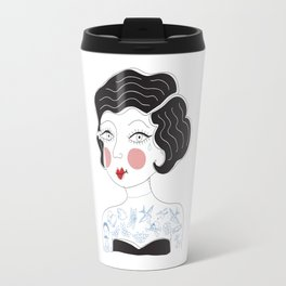 Tattooed Betty Travel Mug