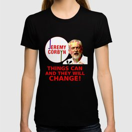 Jeremy Corbyn - Things Can Change (Labour) T-shirt