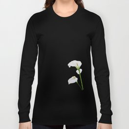 Watercolour Callalily Long Sleeve T-shirt