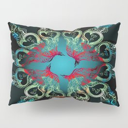 Hearts Aflame Pillow Sham