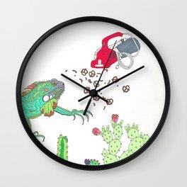 GARDEN SNACKER II Wall Clock