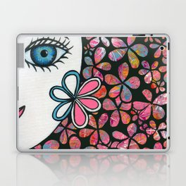 Pink Lady Laptop & iPad Skin