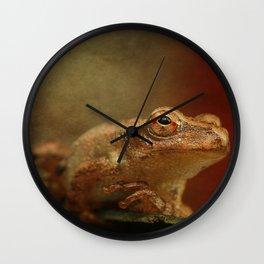 Northern Spring Peeper Wall Clock
