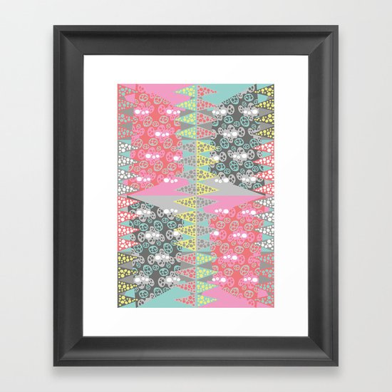 Zinging Framed Art Print