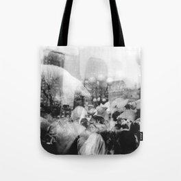 Union Square Pillow Fight Tote Bag