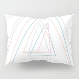 Intertwined Strength and Elegance of the Letter A Pillow Sham