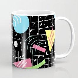 Memphis Style Vibes (Dark) Coffee Mug