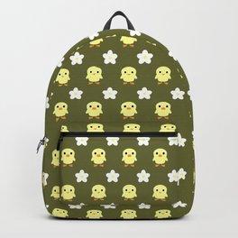 Spring pattern olive darb Backpack