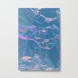 Holographic Artwork No 1 (Crystal) Metal Print
