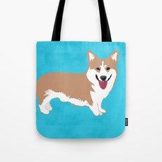 Pembroke Welsh Corgi Dog - Fine art print Tote Bag
