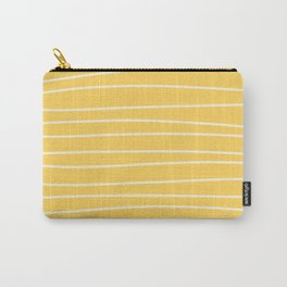 Sunshine Brush Lines Carry-All Pouch