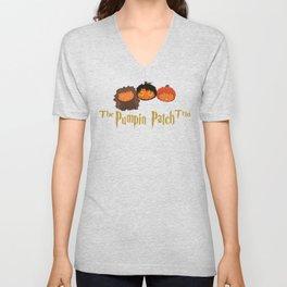 The Pumpkin Patch Trio Unisex V-Neck