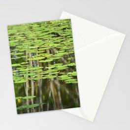 Lily Pond Reflections Stationery Cards