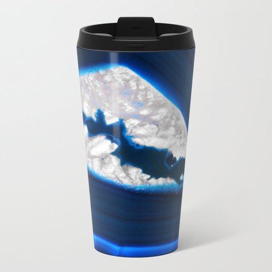 Electrical Agate Metal Travel Mug
