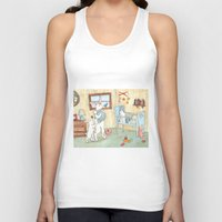 nursery Tank Tops featuring Nursery by Bluedogrose