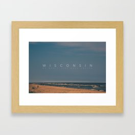 Wisconsin: We don't just have cheese Framed Art Print