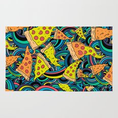Pizza Meditation Rug