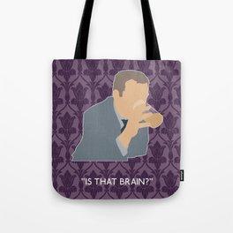 The Sign of Three - Greg Lestrade Tote Bag