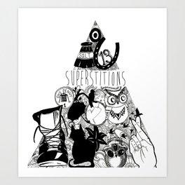 Superstition Art Print